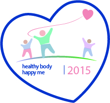 NDNA healthy bodies Healthy body happy me 2015 logo
